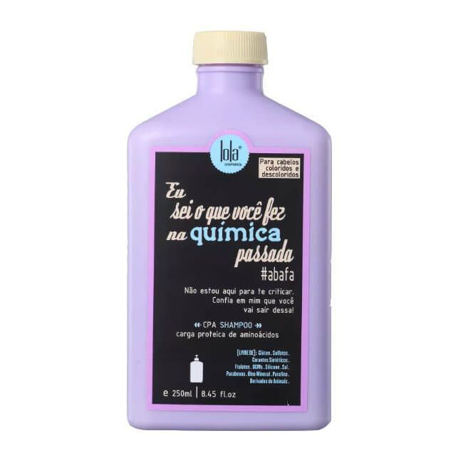 Shampoo Eu sei o que você fez na química passada 250ml - Lola Cosmetics