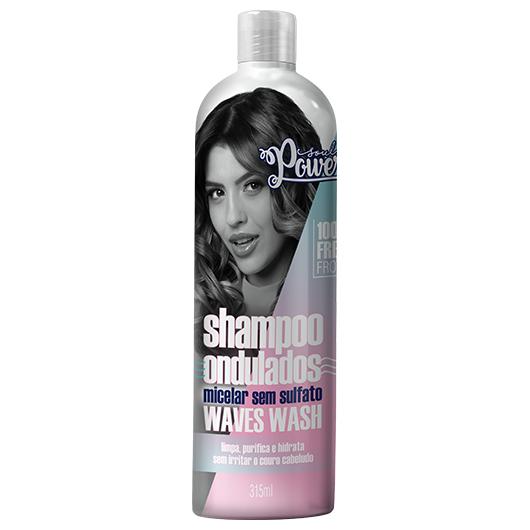 Shampoo Micelar sem Sulfato Waves Wash 315ml - Soul Power