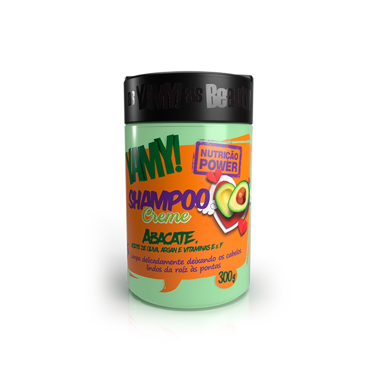 Shampoo Creme de Abacate Nutrição Power 300g - YAMY!
