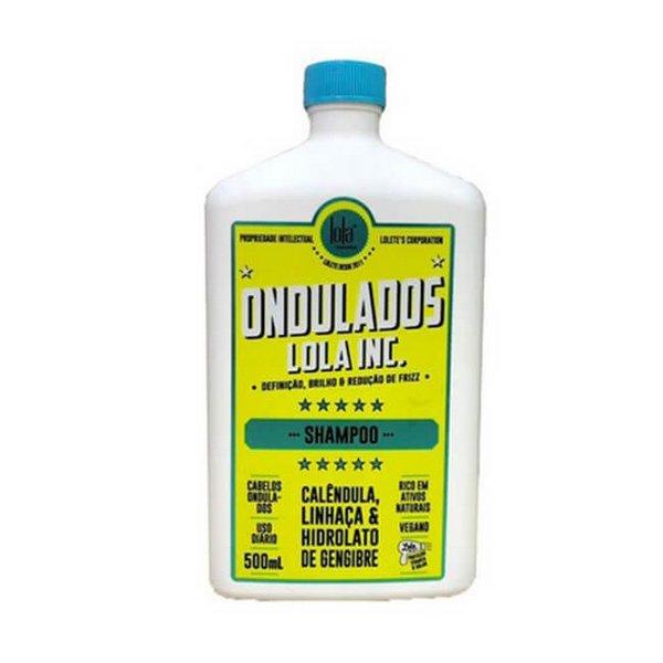 Shampoo Ondulados Lola Inc 500ml - Lola Cosmetics