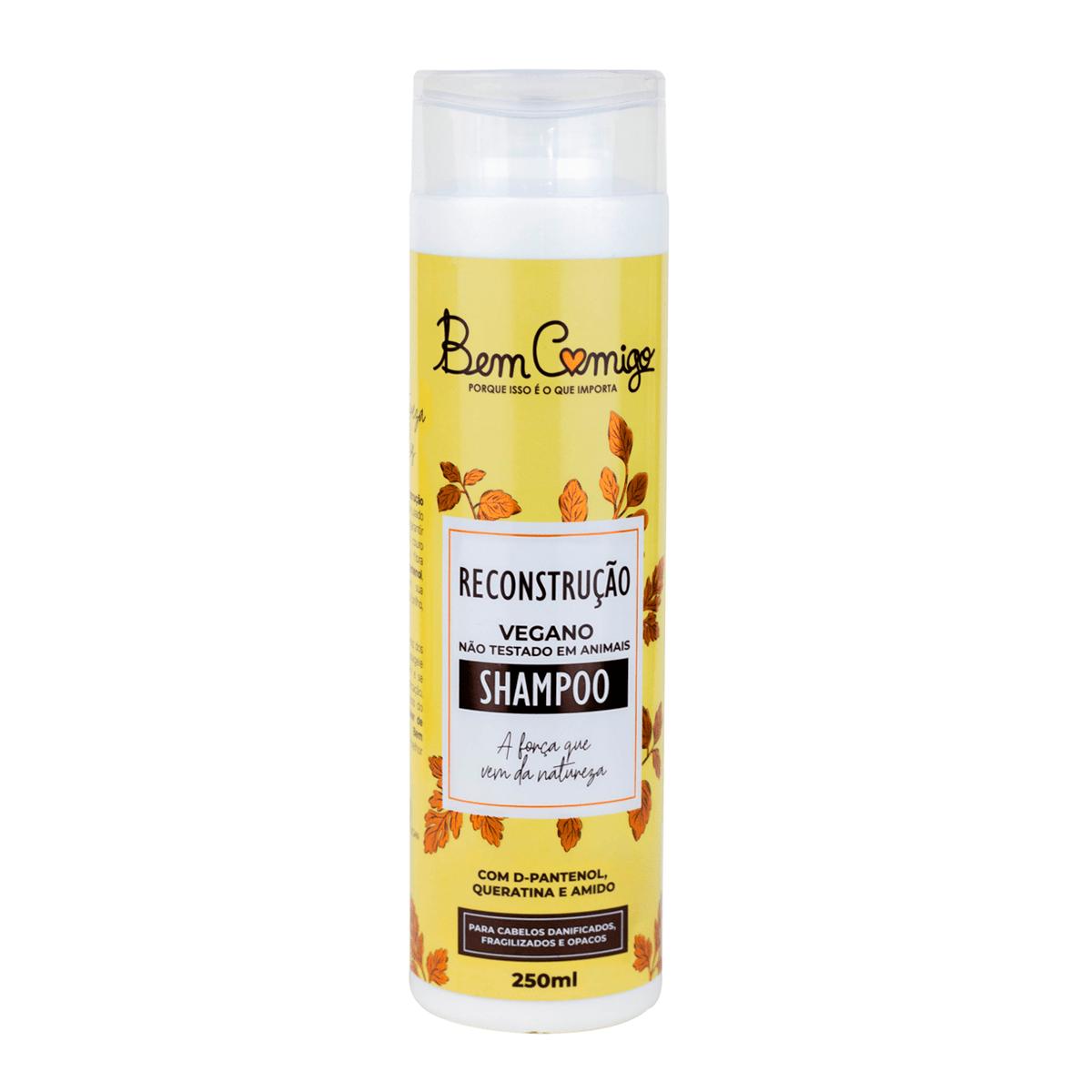 Shampoo Reconstrução Bem Comigo 250ml - Kamaleão Color