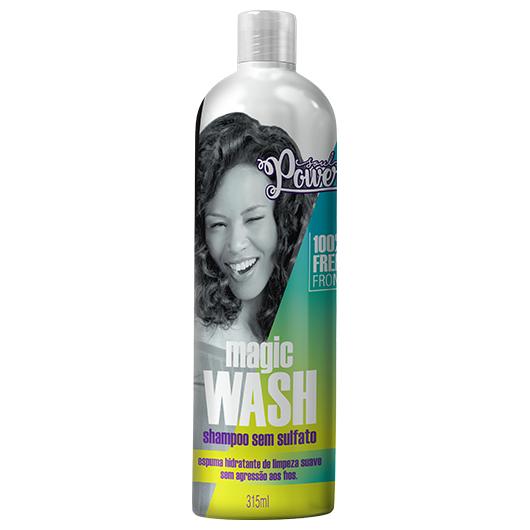 Shampoo sem Sulfato Magic Wash 315ml - Soul Power