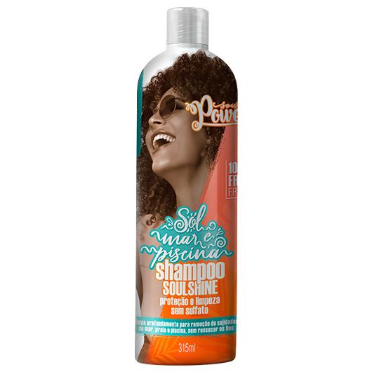 Shampoo Sol, Mar e Piscina SOULSHINE 315ml - Soul Power