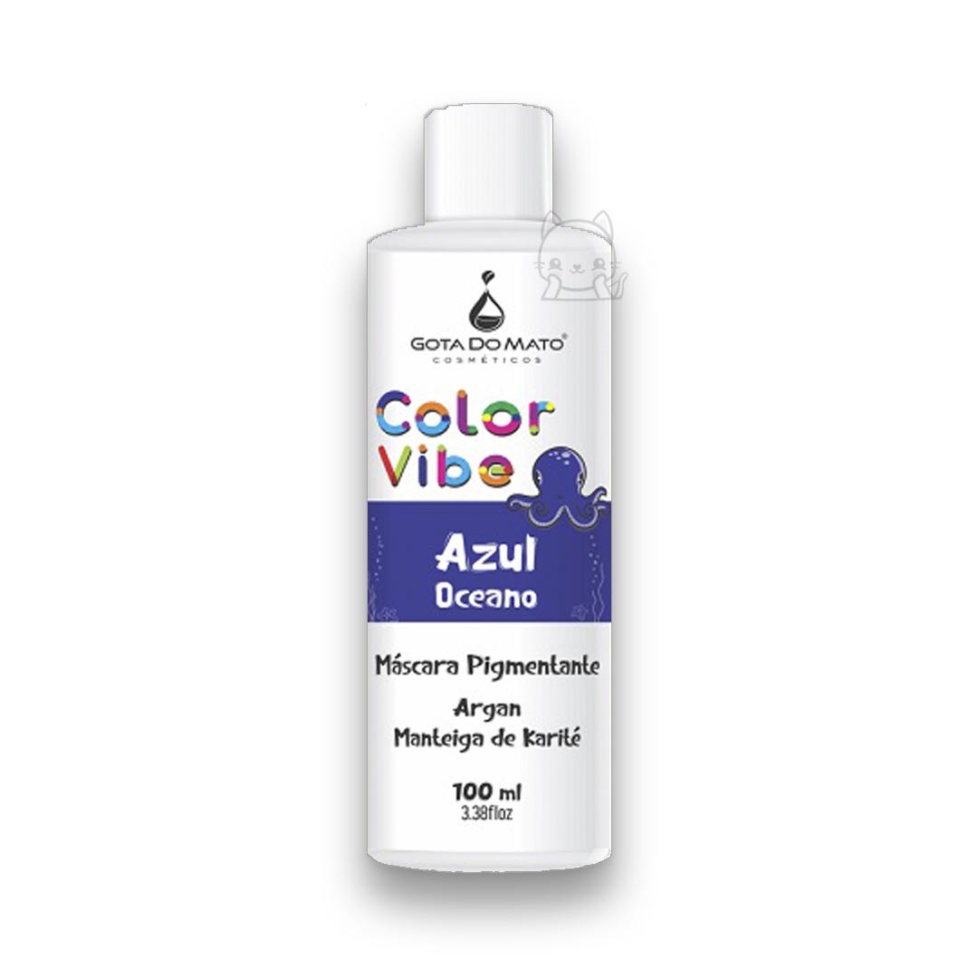 Tonalizante Azul Oceano 100ml - Color Vibe - Gota Do Mato