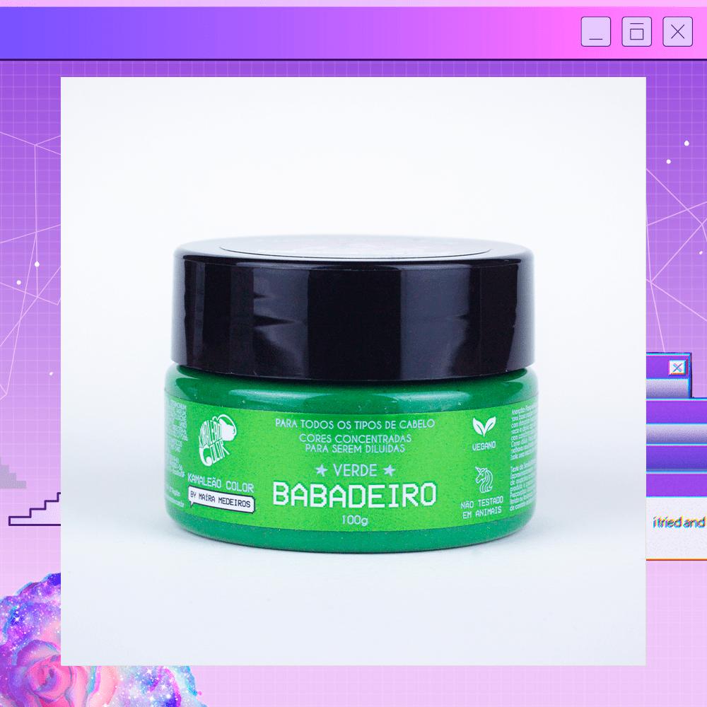 Tonalizante Verde Babadeiro Maira Medeiros 100g - Kamaleão Color