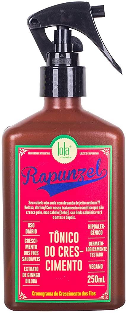 Tônico de Crescimento Capilar Rapunzel 250ml - Lola Cosmetics