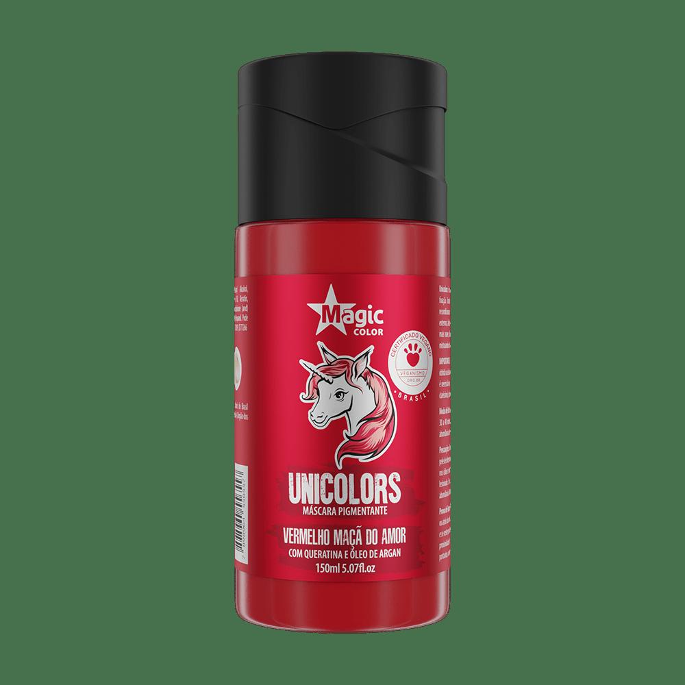 Unicolors Vermelho Maçã Do Amor 150ml - Magic Color