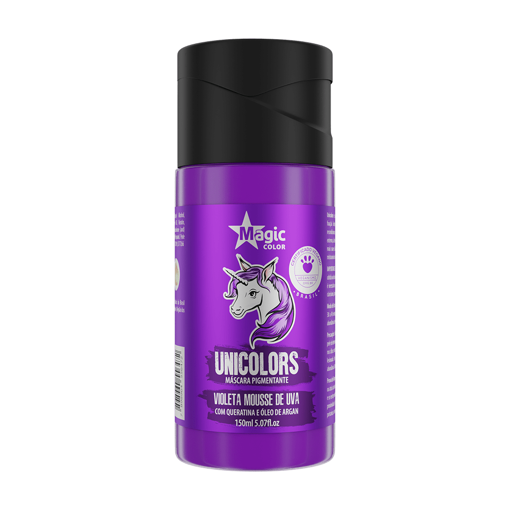 Unicolors Violeta Mousse De Uva 150ml - Magic Color