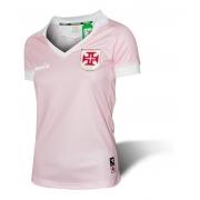 Camisa Do Vasco Outubro Rosa Feminina