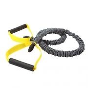 Elastico De Resistencia C/Segurança Medio Cinza Preto E Amarelo Roppe