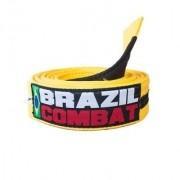 FAIXA BRAZIL COMBAT AMARELO/PRETO