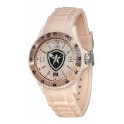 Relógio Oficial Do Botafogo Glorioso - Rosa