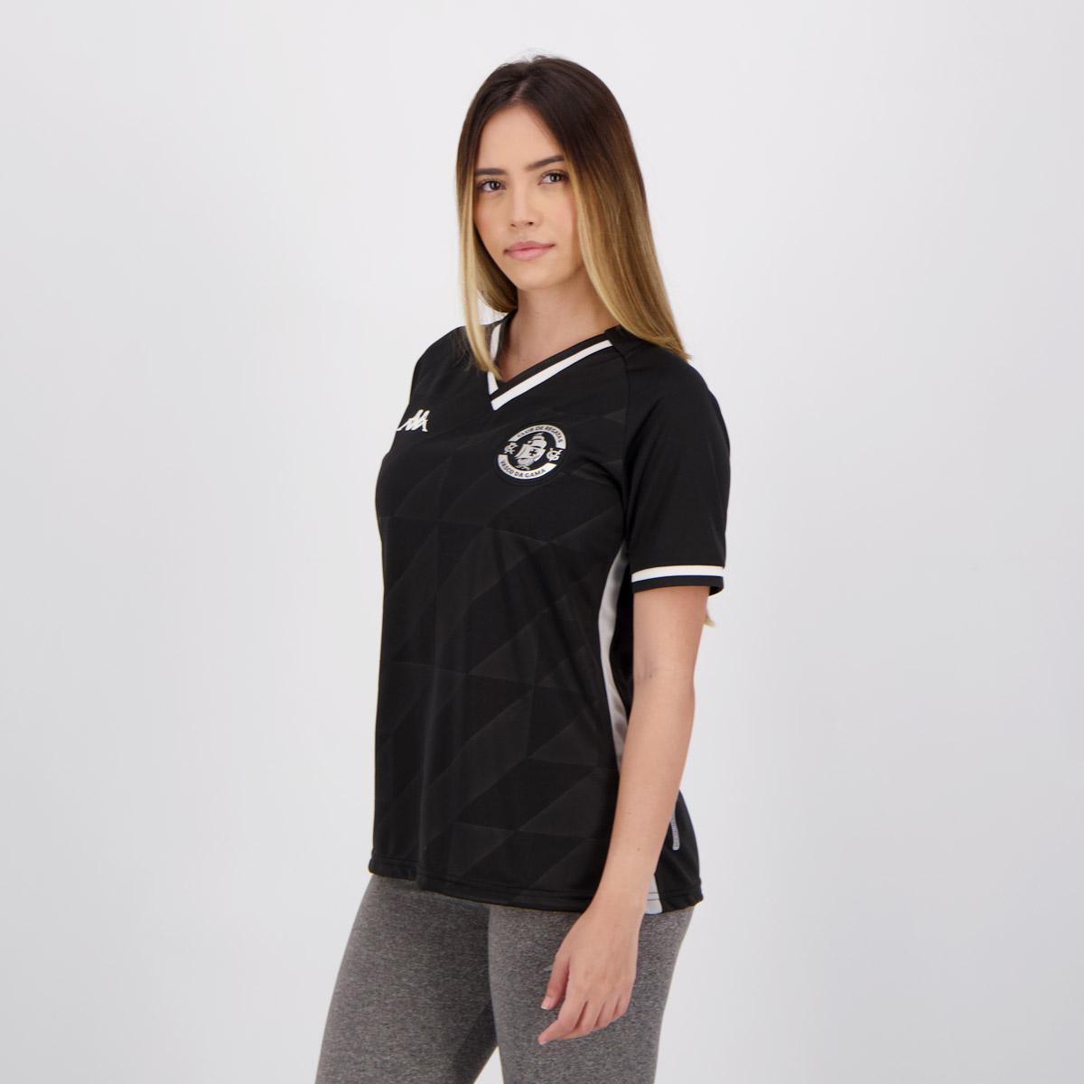 Camisa Kappa Vasco 3 2021 Feminina