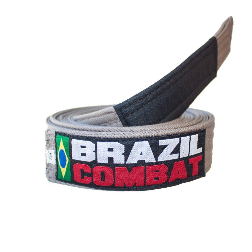 FAIXA BRAZIL COMBAT CINZA