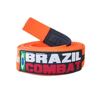 FAIXA BRAZIL COMBAT LARANJA/PRETO