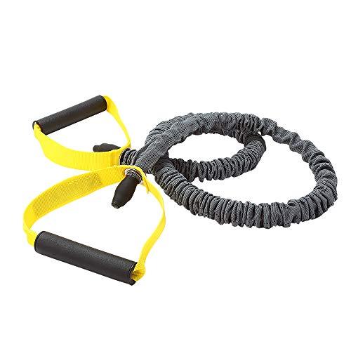 Elastico De Resistencia C/Segurança Extra Forte Cinza Preto E Amarelo Roppe