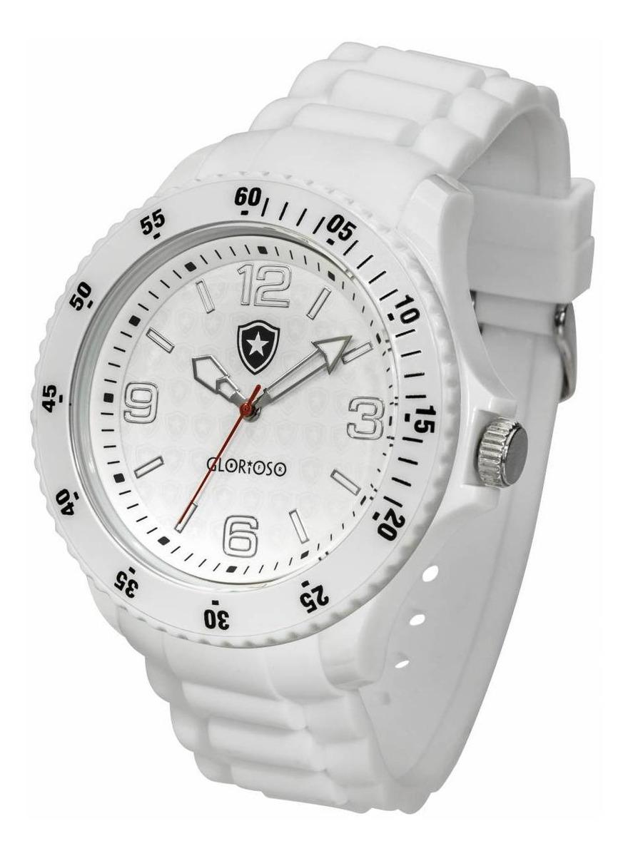 Relógio Oficial Do Botafogo Glorioso - Branco