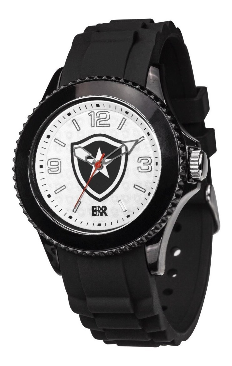 Relógio Oficial Do Botafogo Glorioso - Preto