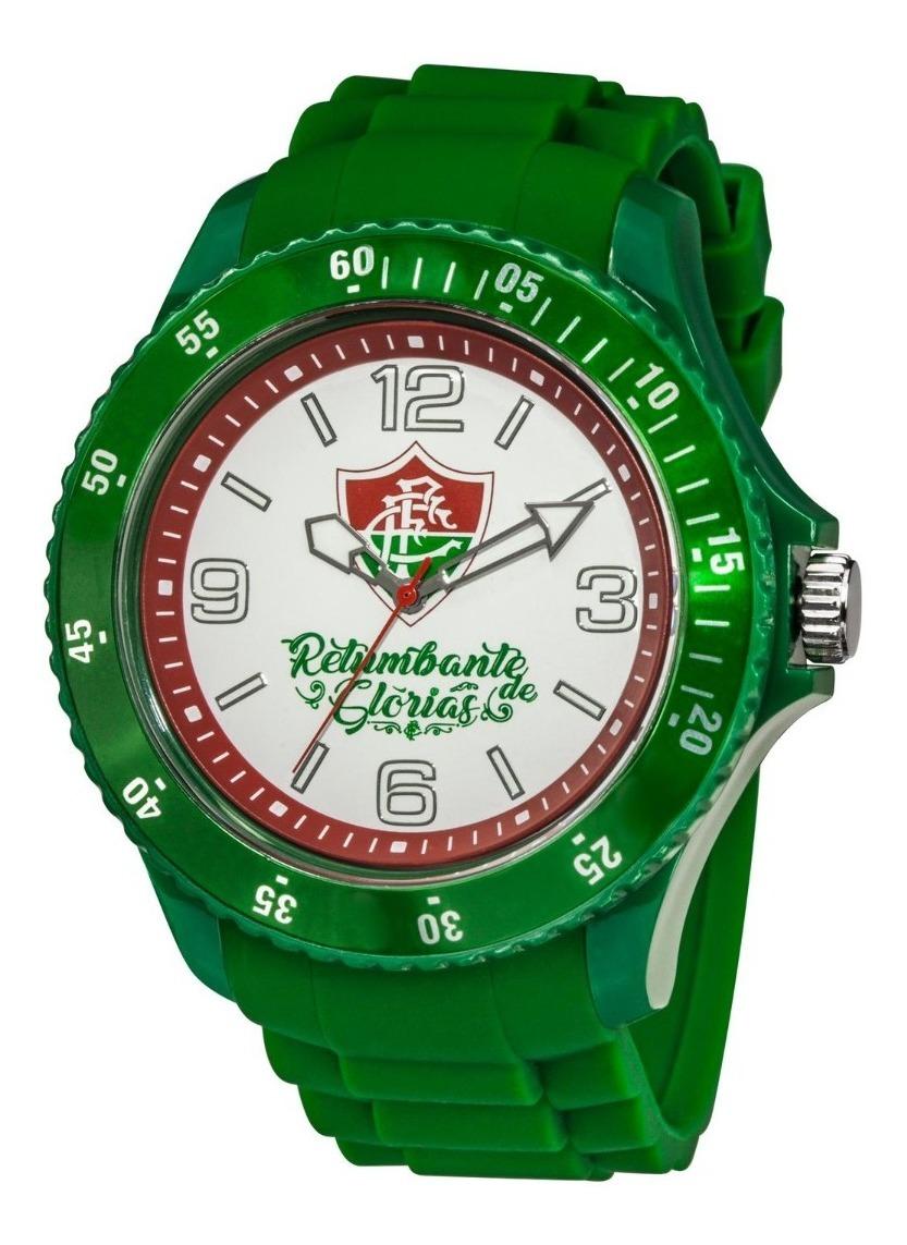 Relógio Oficial Do Fluminense - Verde