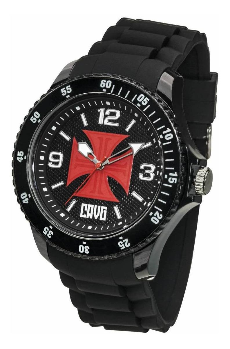 Relógio Oficial Do Vasco - Preto