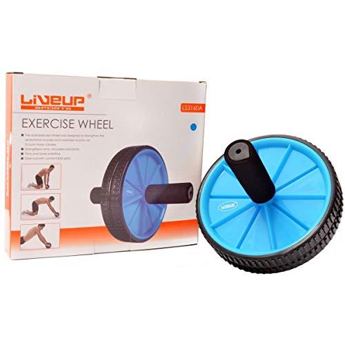 Roda de Exercicio Azul, Liveup Sports