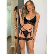 X4136 - Conjunto Lingerie Modelo Seduction
