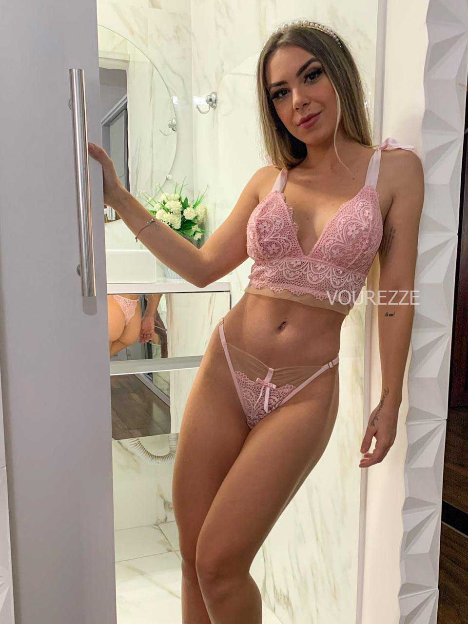 X4146 - Conjunto Lingerie Modelo Seduction