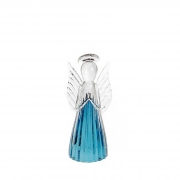Anjo de Murano D'Labone - Cristal Duma Azul Aquamarine Pequeno