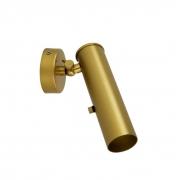 Arandela / Luminária Spot Alumínio - Cor Dourado Metalizado