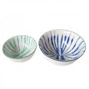 Conjunto De Bowls Com Estampas Sortidas - Tie Dye (2 Peças)