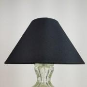 Cúpula Cônica de Tecido 25x16cm - Preta