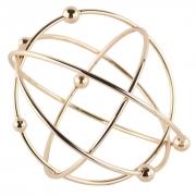 Esfera Decorativa em Metal Átomo Grande - Cobre / Rosé Gold