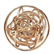 Esfera Decorativa em Metal Interestelar - Rosé Gold / Cobre