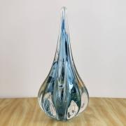 Gota de Murano Labone - Cristal Azul Aquamarine 25cm