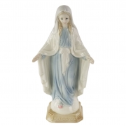 Imagem Figura Santa em Porcelana - Nossa Senhora Das Graças