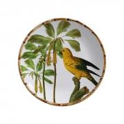 Jogo de Pratos Rasos Maison Blanche Aves do Brasil (6 peças)