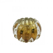 Mini Cachepot De Murano D'Labone - Liceu Âmbar 8cm