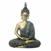 Peça Decorativa de Resina - Buda Esquelético
