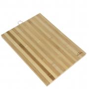 Tábua de Madeira Bambu Para Corte / Churrasco - 40x30cm