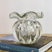 Trouxinha de Murano - Vaso Decorativo de Cristal Transparente