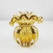 Vaso de Murano Trouxinha D'labone - Cristal Âmbar 14cm
