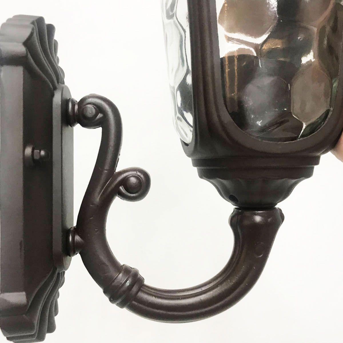 Arandela Colonial Alumínio - Modelo Orleans