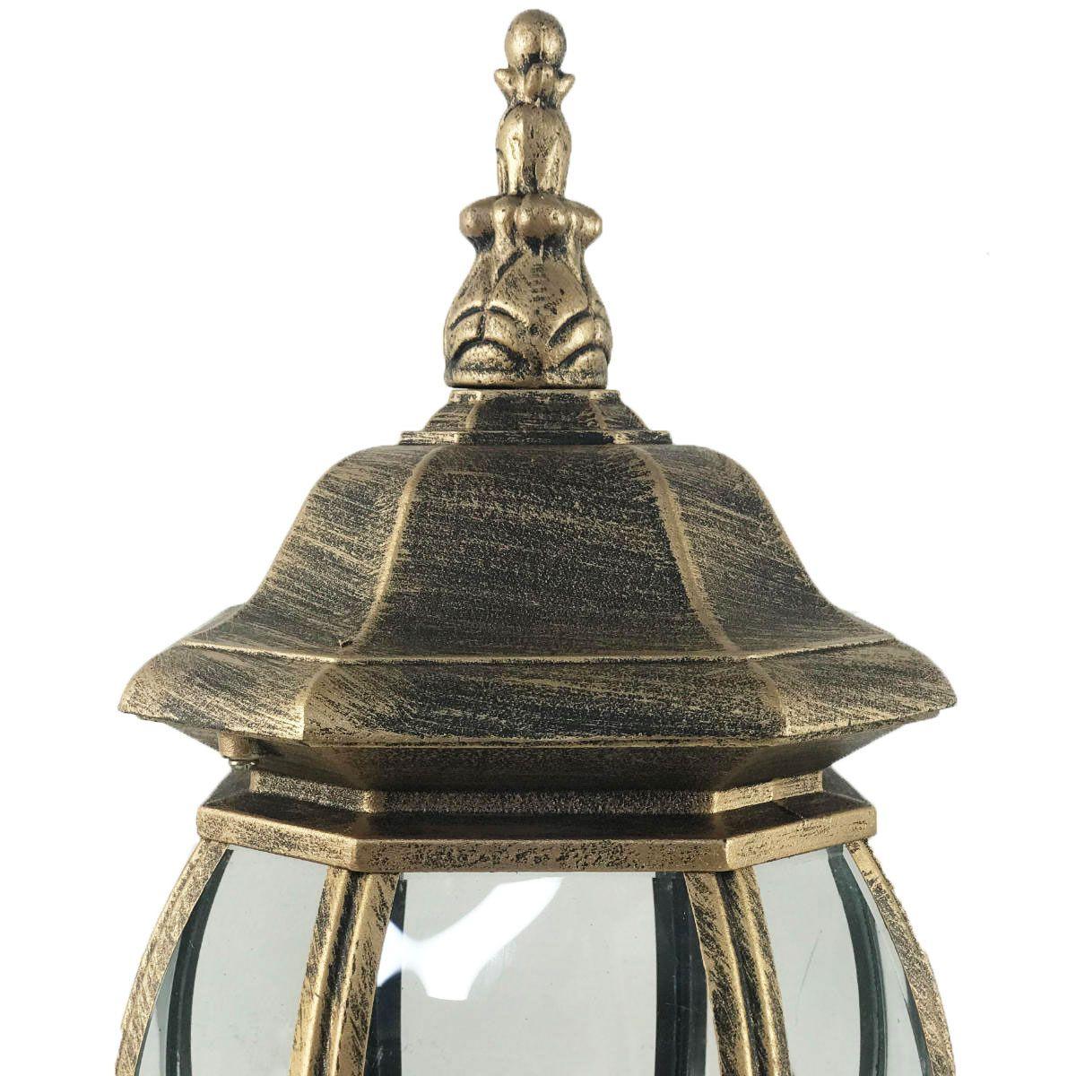 Arandela Colonial de Alumínio - Modelo Lille Ouro Velho 50cm
