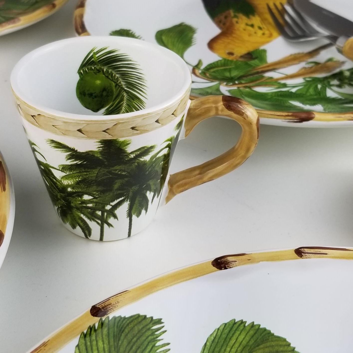 Conjunto Xícaras de Chá Trancoso - 6 pessoas (12 peças)