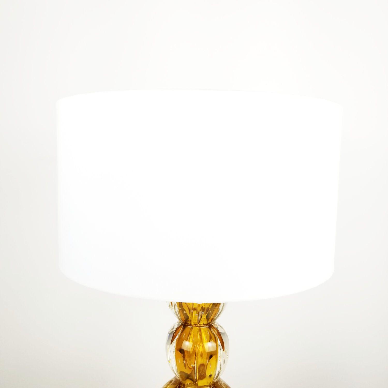 Cúpula Cilíndrica de Tecido 40x22cm - Branca