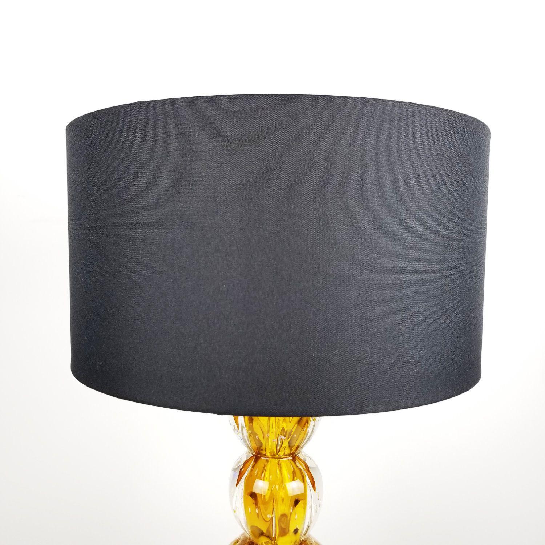 Cúpula Cilíndrica de Tecido 40x22cm - Preta