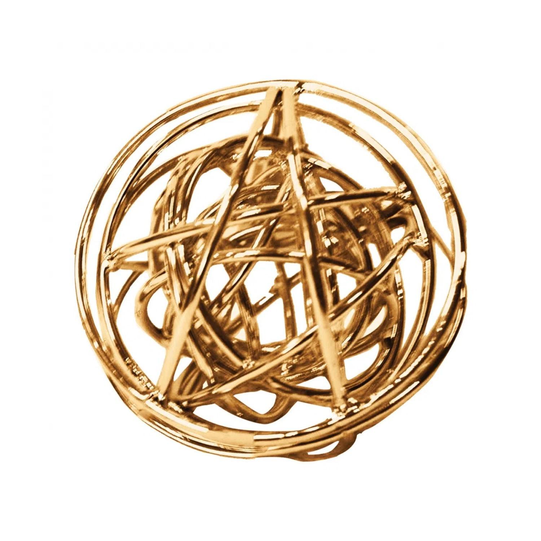 Esfera Decorativa em Metal Interestelar - Cobre