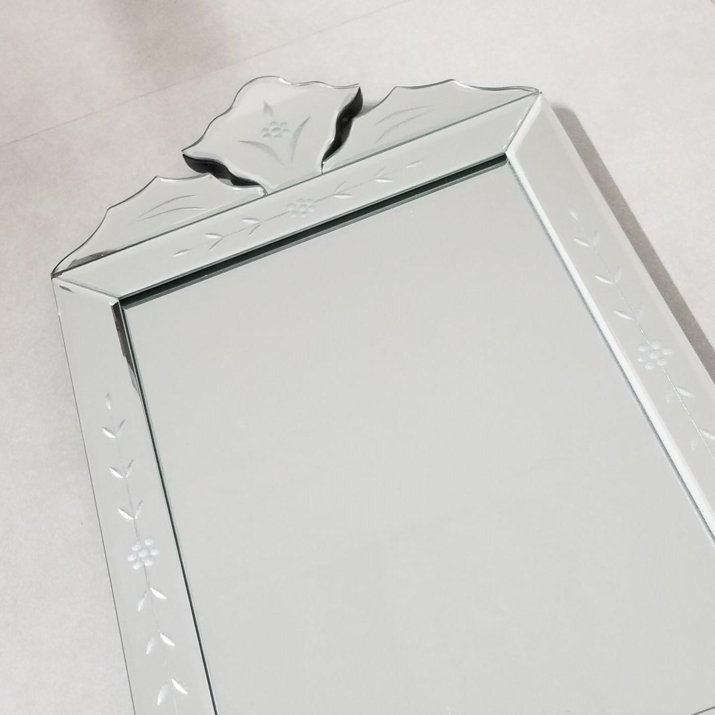 Espelho Veneziano Formato Retangular para Banheiro / Quarto