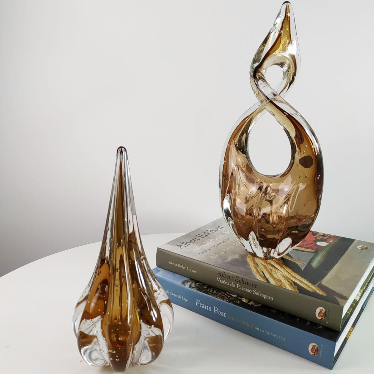 Gota de Murano D'Labone - Cristal Garnet 25cm