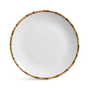 Jogo De Pratos Cerâmica Rasos - Scalla Bambu (6 Peças)